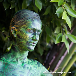 Cuoco bodypaint kaley Hot And
