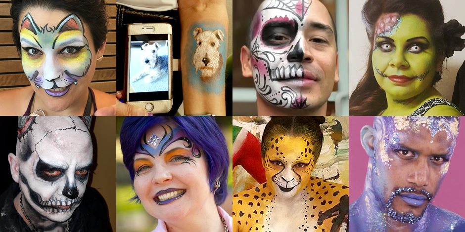 Face Painting La Adult Parties And Events Quality Face